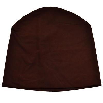 Čepice beanie - hnědá