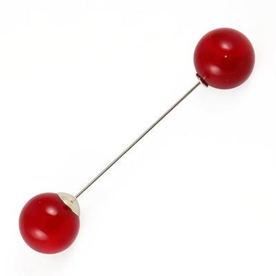 Brož - červená - 1