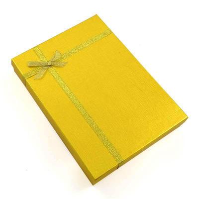 Dárková krabička velká kv13 - zlatá - 1