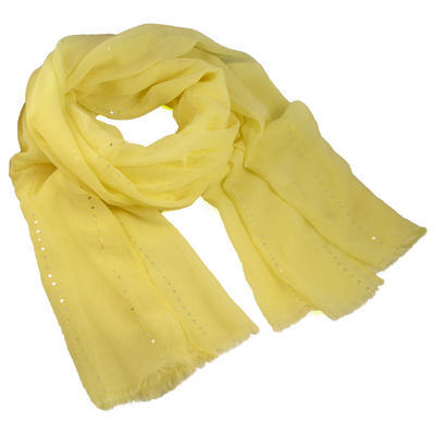 Šála klasická - žlutá - 1