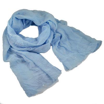 Šála klasická - modrá - 1