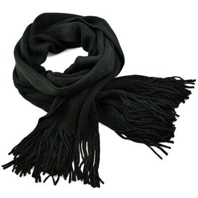 Šála pletená 69cp001-75 - tmavě šedá