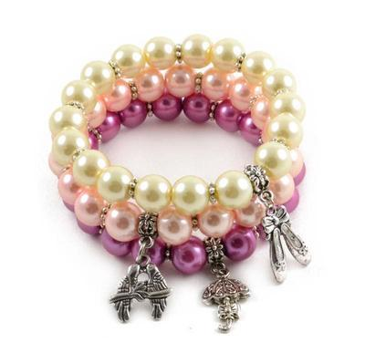 Bracelet set - Cream Tones