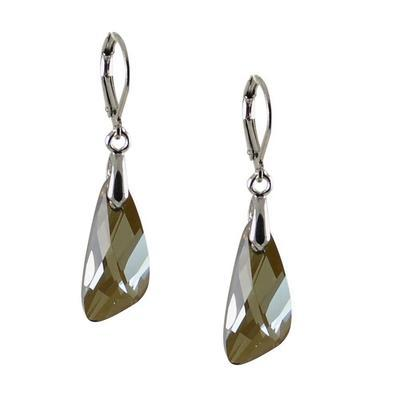 De-Art Hematite earrings made with SWAROVSKI ELEMENTS