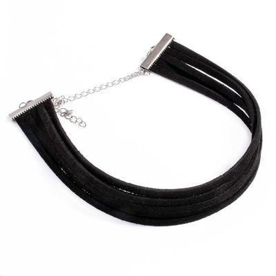 Náhrdelník choker 34ac001-70g - černý - 1