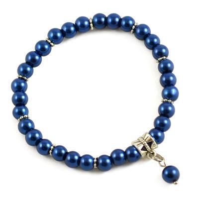 Náramek Bijoux Me 26bm003-36a - tmavě modrý