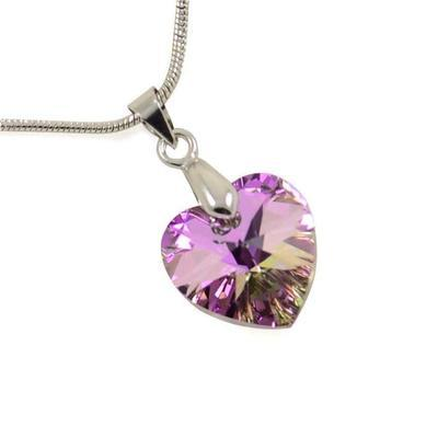 De-Art Amethyst pendant made with SWAROVSKI ELEMENTS