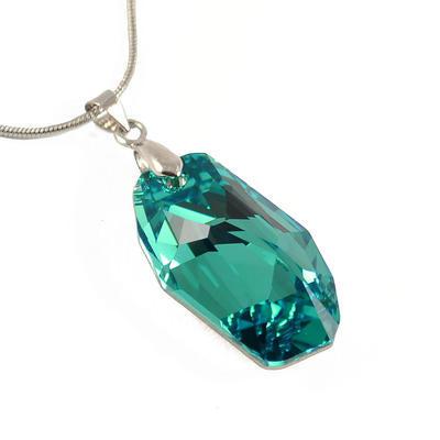 Rivoli Peridot pendant made with SWAROVSKI ELEMENTS