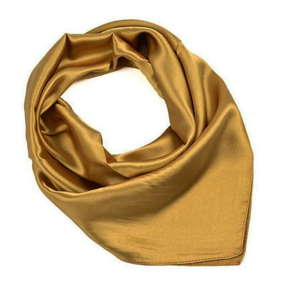 Small neckerchief 63sk001-13 - golden brown