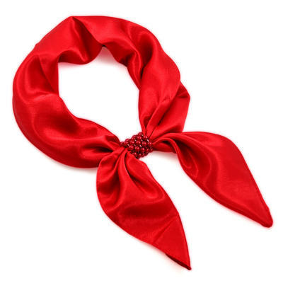 Jewelry scarf Stewardess Light - red - 1