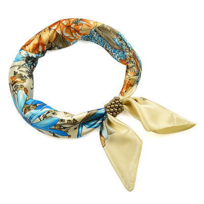 Bijoux Neckerchief Stewardess - blue with polka dot - 1