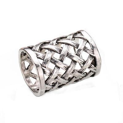 Spona na šátek 100sp-ac71c - stříbrná