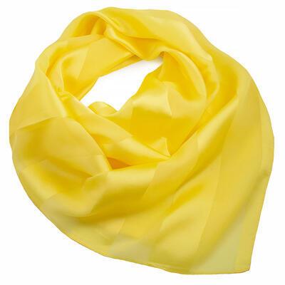 Šátek - žlutý jednobarevný