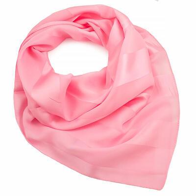 Šátek - růžový jednobarevný