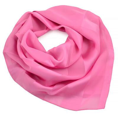 Šátek - růžový jednobarevný - 1