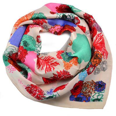 Šátek - béžový - 1