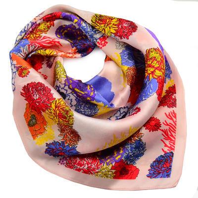 Šátek - růžový - 1