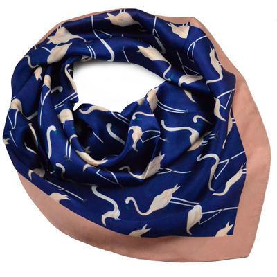Šátek - modré plameňáci - 1