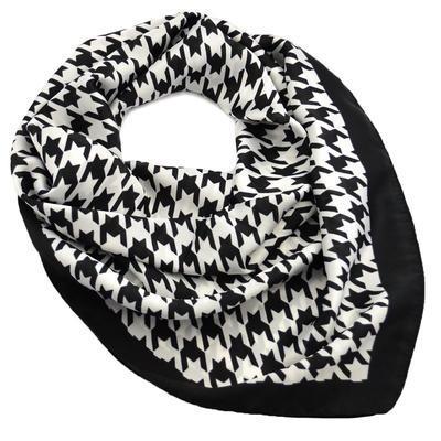 Šátek - černobílý - 1