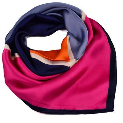 Square scarf- multicolour - 1