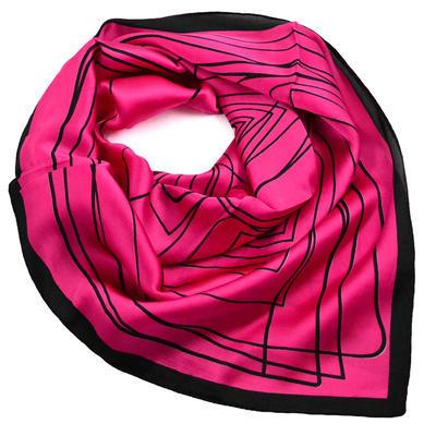Šátek - fuchsiový - 1