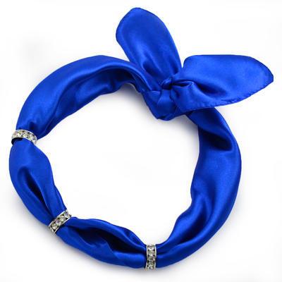 Šátek s bižuterií Sofia - modrý - 1