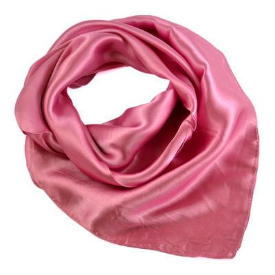 Šátek saténový 63sk001-27a - růžový