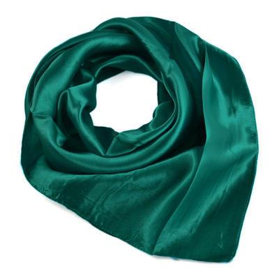 Šátek saténový 63sk001-38 - zelenomodrý