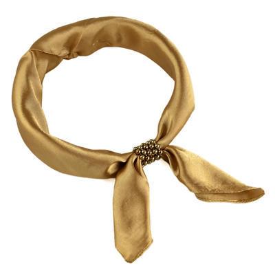 Šátek s bižuterií Letuška Light - zlatý - 1