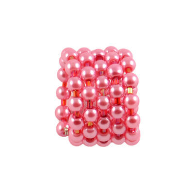 Velká spona na šálu 149sp23 - růžová - 1