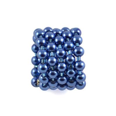Velká spona na šálu 149sp30 - modrá - 1
