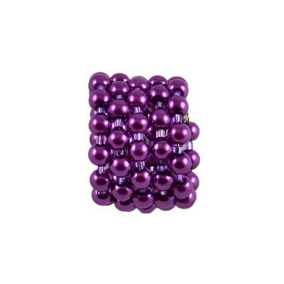 Velká spona na šálu 149sp33 - fialová - 1
