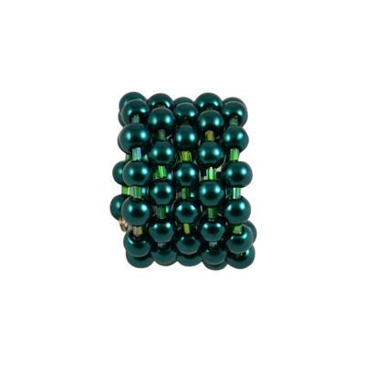 Velká spona na šálu 149sp53 - zelená - 1