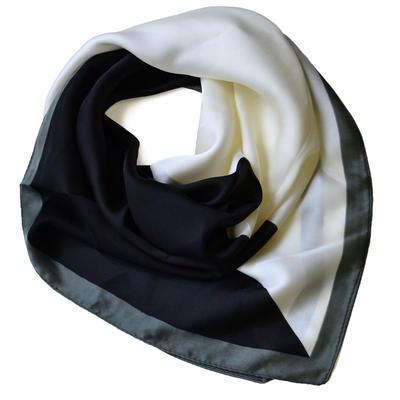 Velký šátek 63sv009-70.01 - černobílý