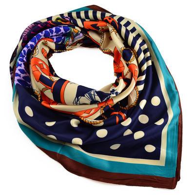 Velký šátek 63sv009-30.11 - barevný - 1