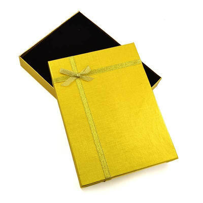Dárková krabička velká kv13 - zlatá - 2