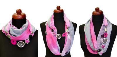Scarf Extravagant 396ext002-11.10 - orange - 2