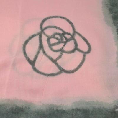 Šála klasická - růžovošedá - 2