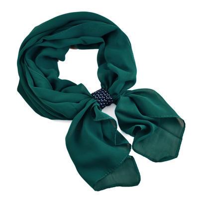 Velká spona na šálu 149sp53 - zelená - 2