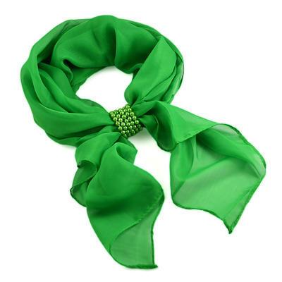 Velká spona na šálu 149sp51 - zelená - 2