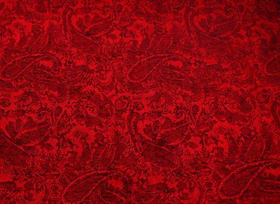 Šála teplá 69cz001-20a - červená jednobarevná - 2