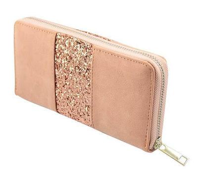 Peněženka pen01-23 - růžová s flitry - 2