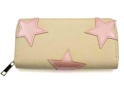 Peněženka pen03-30.71 - modrá s hvězdičkami - 2