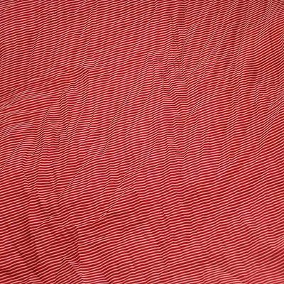 Šála Classic 69cl003-20.01 - červená pruhovaná - 2