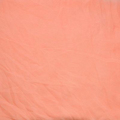 Šála Classic 69cl003-23.01 - růžová pruhovaná - 2