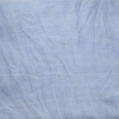 Šála Classic 69cl003-31.01 - bledě modrá pruhovaná - 2