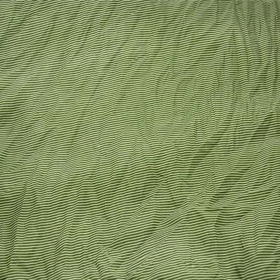 Šála Classic 69cl003-50.01 - zelená pruhovaná - 2