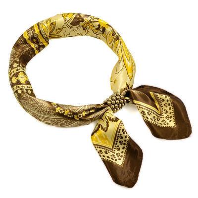 Spona na šátek 100sp13 - bronzová - 2
