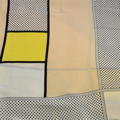 Šátek - bíložlutý - 2