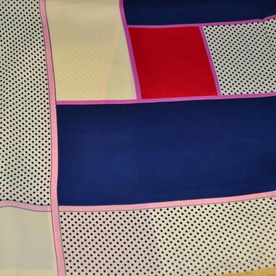 Šátek - modrobarevný - 2